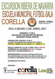 Excursión de la Escuela Deportiva Municipal de Fútbol Sala