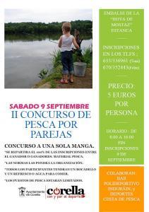 Segundo concurso de pesca por parejas en la Hoya de Mostaz de Corella