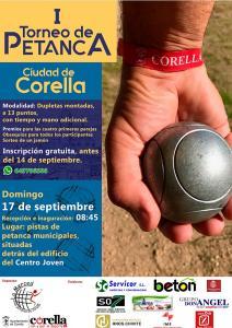 Por primera vez en Corella, torneo de petanca