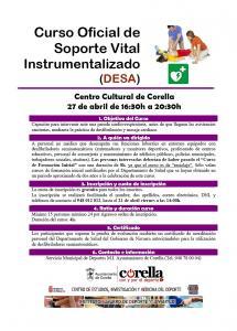 El próximo 27 de abril, Corella será sede del Curso de Reciclaje en DESA