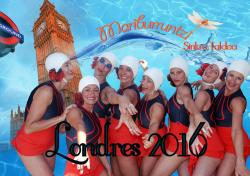 Por primera vez en Corella, el arte de la natación sincronizada
