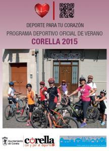 Deporte para tu corazón: programa deportivo oficial del verano Corella 2015